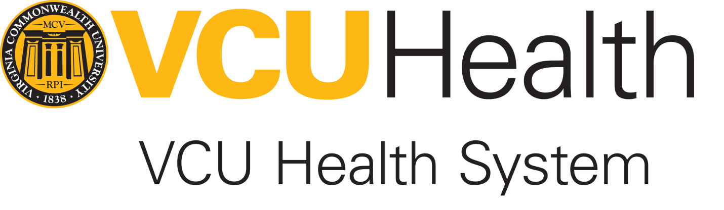 VCU Health and health system Logo